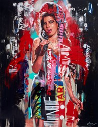 Amy by Zinsky -  sized 36x46 inches. Available from Whitewall Galleries
